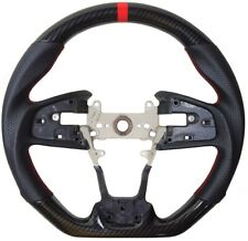 Sports Hydro Dip Carbon Steering Wheel for 2016-2020 HONDA CIVIC Gen 10th Type-R