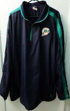 Nike Men's Miami Dolphins 1/4 Zip On-Field Pullover Football Jacket Sz. L NEW