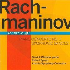 Rachmaninov: Piano Concerto No. 3; Symphonic Dances, New Music