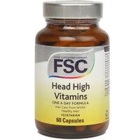 FSC Head High Vitamins 60 Capsules for Healthy Hair *BUY 1 GET 1 FREE*
