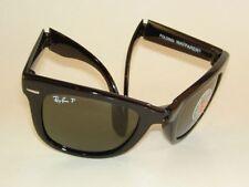 New RAY BAN  Sunglasses  FOLDING  WAYFARER  RB 4105 601/58 Polarized Green  50mm