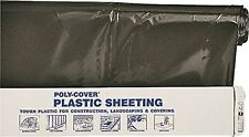 ORGILL POLY 6X8-B Polyethylene Sheeting, 6-Mil, Black