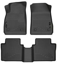 Husky Liners 99101 Weatherbeater Black Floor Liners for 14 Chevrolet Impala