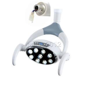 Dental 9 LED Lamp Oral Light Induction Senser For Dental Unit Chair 22mm/26mm