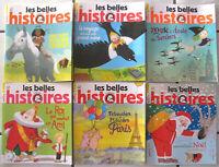 """Lot de 6 magazines """"Belles Histoires"""" - Juil/Déc 2013"""