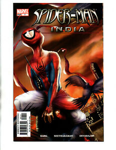 Spiderman India #1 - 1st appearance - Spiderverse - KEY - 2005 - (-NM)