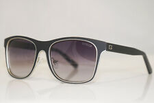 GUESS Mens Designer Sunglasses Black Rectangle GU 6851 02B 13452