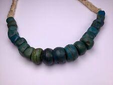 Antique Hebron Kano trade glass beads bangle 100 Gramm 古董 希伯倫