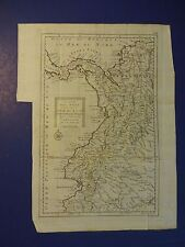 Nice Map of Southern Sea - Panama to Guaijaquil - H. Klockhoff 1778