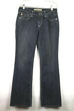 """Big Star Women's Jeans Hazel Boot Cut Curvy Fit Dark Wash 31"""" X 32"""""""