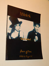 NIAGARA Quel Enfer PARTITION Sheet music PIANO GUITARE chansons & paroles PIANO