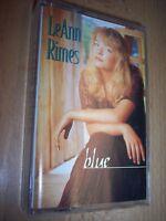 1996 LeAnn Rimes Blue Cassette
