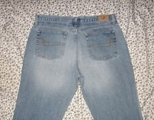 Women's American Eagle Mid Rise Boot Cut Jeans Size 12 Petite Waist 34 Inseam 30