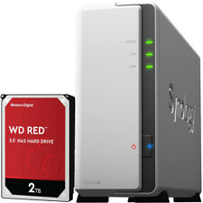 Synology DS120j DiskStation Fully Assembled 2TB Western Digital RED NAS Drive
