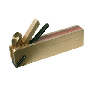 Silverline Mini Absatzsimshobel Hobel Möbelbau Schreiner Modellbau Messing Holz