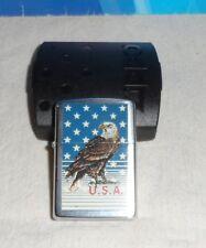 ZIPPO ACCENDINO U.S.A. AQUILA-USATO-Lighter Briquet Feuerzeug