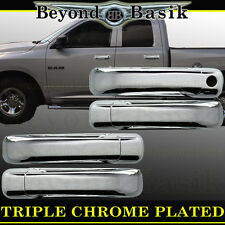 2005-2010 JEEP GRAND CHEROKEE Chrome Door Handle Cover W/O PSK W/O Smart Key 4DR