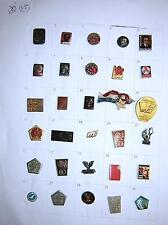 LOT of 30 pin badges - Ex Yugoslavia, Tito, Partizans etc. #15