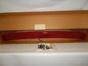 New OEM 1989-1997 Ford Thunderbird Rear Spoiler Wing Kit Third Brake Light Red