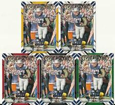 2016 Score Rob Gronkowski Chain Reaction 5 Card Parallel Black Red Green Lot