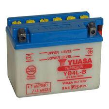 Batterie moto Yuasa YB4L-B 12V 4.2AH 45A 120X70X92MM Acide offert