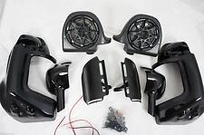 Speaker lower fairing kit, w/ all mounting hardware fit Harley Touring models