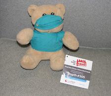LEXISNEXIS LEXIS NEXIS STUFFED PLUSH DR FRAUD TEDDY BEAR DOCTOR SURGEON NEW NEW