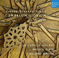 MUSICA FIATA - CYMBALUM SIONIUM  CD NEU SCHEIN,JOHANN HERMANN