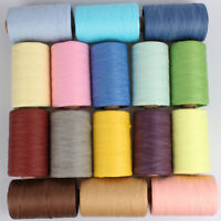 280M/Roll Raffia Organic Straw Paper Yarn Knitting Rope for Crochet DIY Hat Bag