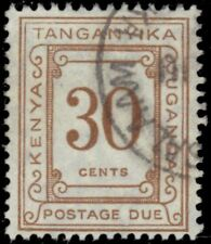 """K.U.T. COLONY J10i (SG D10a) - Numeral of Value """"1960 Postage Due"""" (pf76485)"""