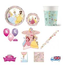 Premium Deluxe Disney Princess True Birthday Party Set, Tableware & Accessories