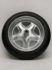 "True Temper Flat-Free Wheel Barrel Tire 3.50-10""(15.25 total) 5/8 Axle 🇺🇸 RET"