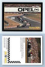 Boutsen / HUN #170 Formula 1 Pro Trac's 1991 Premier Racing Card