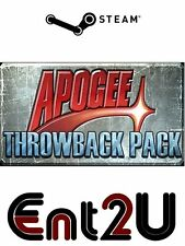 The Apogee Throwback Pack Steam Key - for PC or Mac (Same Day Dispatch)