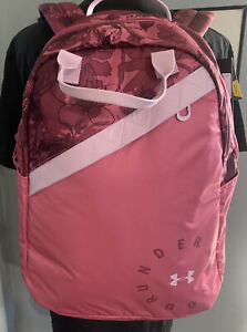 Under armour Girls's Favorite Pink Backpack 3.0 NEW With Tags Full Size