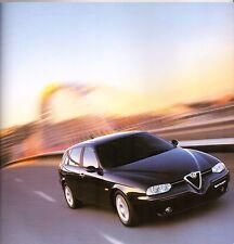 Alfa Romeo 156 Sportwagon 2002-03 UK Market Sales Brochure 1.6 1.8 2.0 2.5 JTD