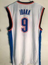 Adidas NBA Jersey Oklahoma City Thunder Serge Ibaka White sz 2X