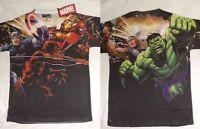 Daredevil Hulk Captain America Marvel Comics Costume Sublimation Print T-Shirt