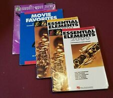 Lot of 4 Vintage Clarinet Music & Song Books Movie Favorites