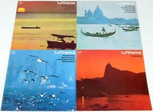 4 Lufthansa Reisebroschüren 1966 & 1967