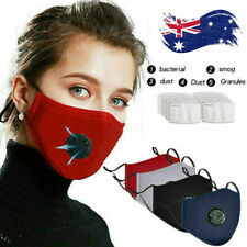 Washable Reusable Anti dust Face Mask W/Breath Replacement Mask Filters