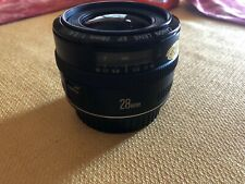 Canon EF 28mm f/2.8 EF Lens, Tested, Clean, Sharp & Fast, Free Shipping US