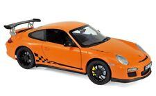 Porsche 911 GT3 RS orange 2009 1/18 Norev