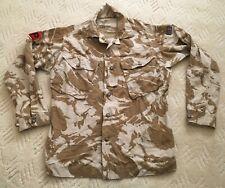 Military Police combat jacket / shirt, Desert DPM camo, badged