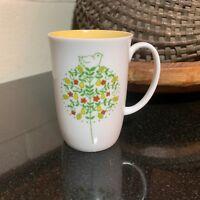 "Georg Jensen Holiday 4 1/4"" Partridge in a Peartree Mug Japan - Pristine"