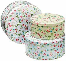 Cooksmart Spring Meadow Cake Tins Set of 3 NEW