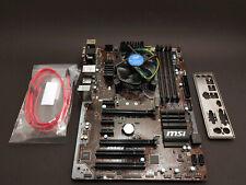 Intel Core i5-6600K Prozessor + MSI Z170A PC Mate Mainboard - LGA 1151