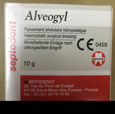 2 X New SEPTODONT Alveogyl Paste 10gm Dry socket treatment Dental Material