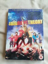 THE BIG BANG THEORY - SEASON 5 - DVD- Brand New sealed