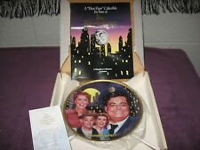 "Honeymooners Commemorative Plate /Special Size-10"" / 24kGold Rim /"" Retired """